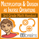 Multiplication and Division as Inverse Operations pgs. 43-45 (CCSS)