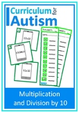Multiply Divide by 10 Autism Special Education