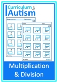 Multiplication  Division by Single Digits  Autism