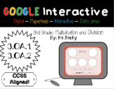 Multiplication and Division for Google Classroom