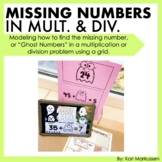Multiplication and Division - grids to find missing numbers