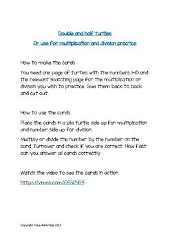 Multiplication and Division independent focused practice