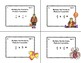 Multiplication and Division of Fractions-Grades 4-6-Task Cards-Halloween
