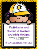 Multiplication and Division of Fractions and Whole Numbers