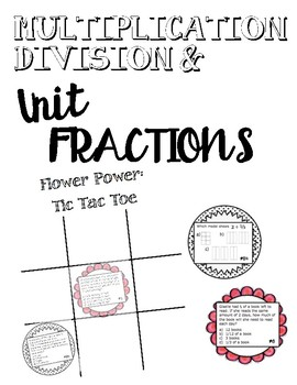 Multiplication and Division of Unit Fractions: GAME