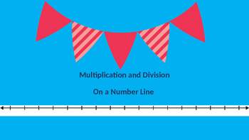 Multiplication and Division on a Number Line