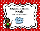 Multiplication and Division task cards and scoot