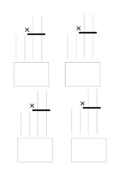 Multiplication and Division template