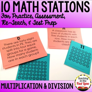 Multiplication and Division within 100 Stations