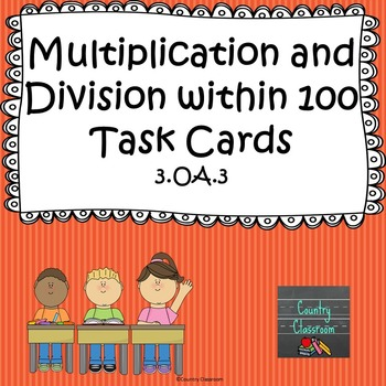 Multiplication and Division within 100 3.OA.3