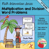 Multiplication and Division within 100 {One and two step problems}