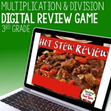 Multiplication and Division within 100 Review Game - Hot Stew Review