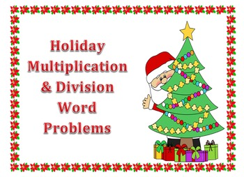 Multiplication and Divison Word Problems