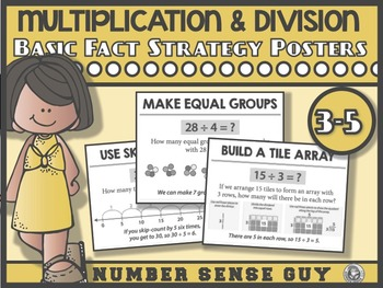 Multiplication and Divsion Strategy Posters