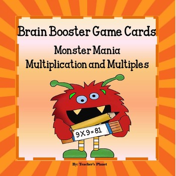 Multiplication and Multiples Game & Task Cards!
