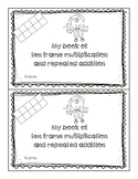 Multiplication and Repeated Addition on Ten Frames Booklet