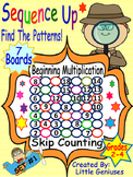 Multiplication and Skip Counting Pattern Puzzle Boards