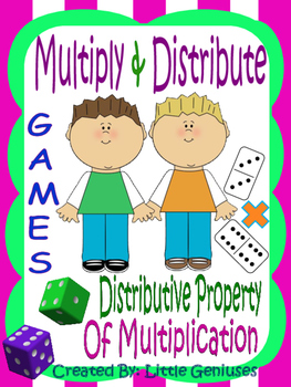 Multiplication and The Distributive Property~ Games For Un