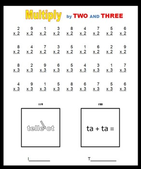 Multiplication and Word Puzzles