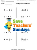 Multiplication and division arrays lesson plans, worksheet