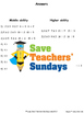 Multiplication and division arrays worksheets (4 levels of difficulty)