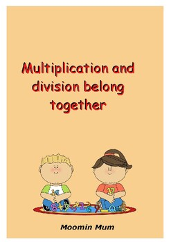 Multiplication and division belong together