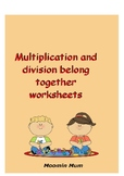 Multiplication and division belong together worksheet