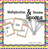 Multiplication and division spoons