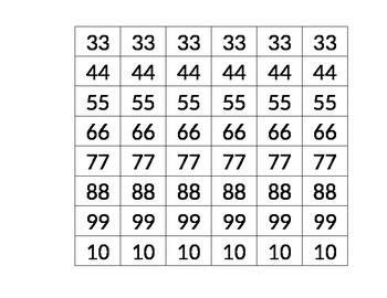 Math----Multiplication answers