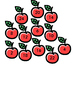 Multiplication apples trees 2 - 12 times tables maths games