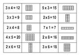 Multiplication array match-ups