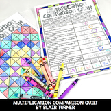 Multiplication as Comparison: 4th Grade Math Centers 4.OA.1
