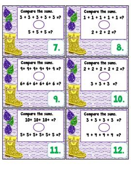 Multiplication as Repeated Addition: Differentiated Task Cards CC 3.OA.5