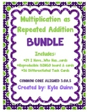 Multiplication as Repeated Addition BUNDLE 3.OA.5