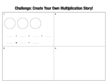 Multiplication as Repeated Addition Worksheet