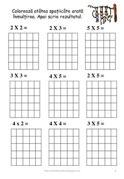 Multiplication as Repeated Addition in Romanian Language