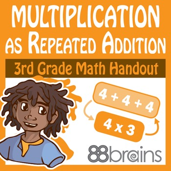Multiplication as Repeated Addition pgs. 1 - 4 (CCSS)