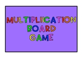 Multiplication board game! {120 question cards!}