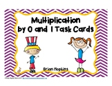Multiplication by 0 and 1 Task Cards