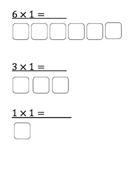 Multiplication by 1-2 for special education students