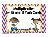 Multiplication by 10 and 11 Task Cards