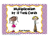 Multiplication by 12 Task Cards