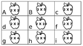 Multiplication by 2's center or scoot game