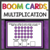 Multiplication by Arrays Boom Cards™ Digital Activities