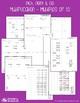 Multiplication by Multiples of 10 - Multiplication Workshe