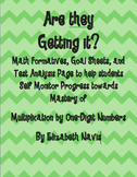 Multiplication by One-Digit Number Assessment Pack