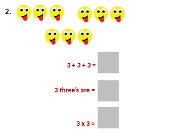 Multiplication by Repeated Addition