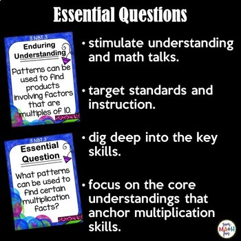 Multiplication by 10 Activities: Third Grade Common Core