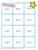 Multiplication fact practice game - great for centers!
