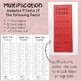 Multiplication facts Speed Test Booklet - 7,8,9